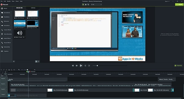 pan and zoom in camtasia