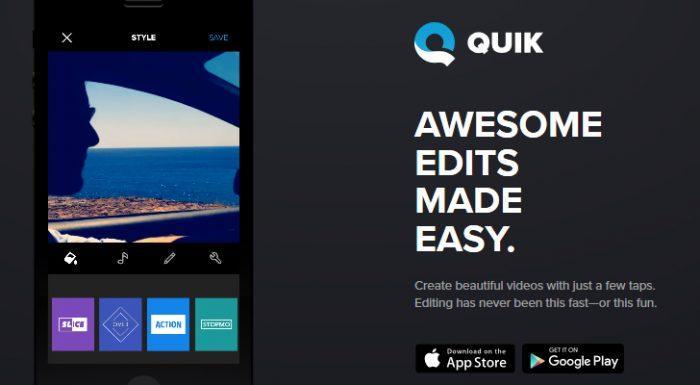quick split video app