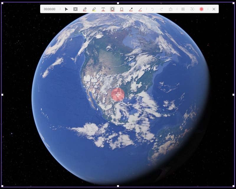 record google earth democreator