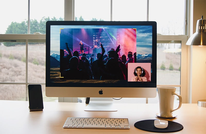 screen and audio record on mac