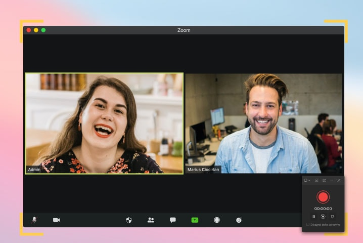 webcam and audio recording