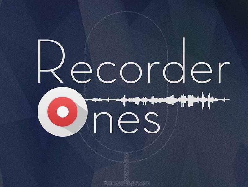 recorder ones