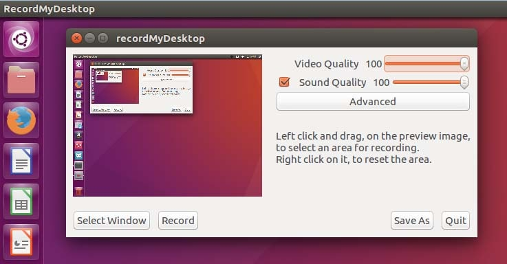 record my desktop