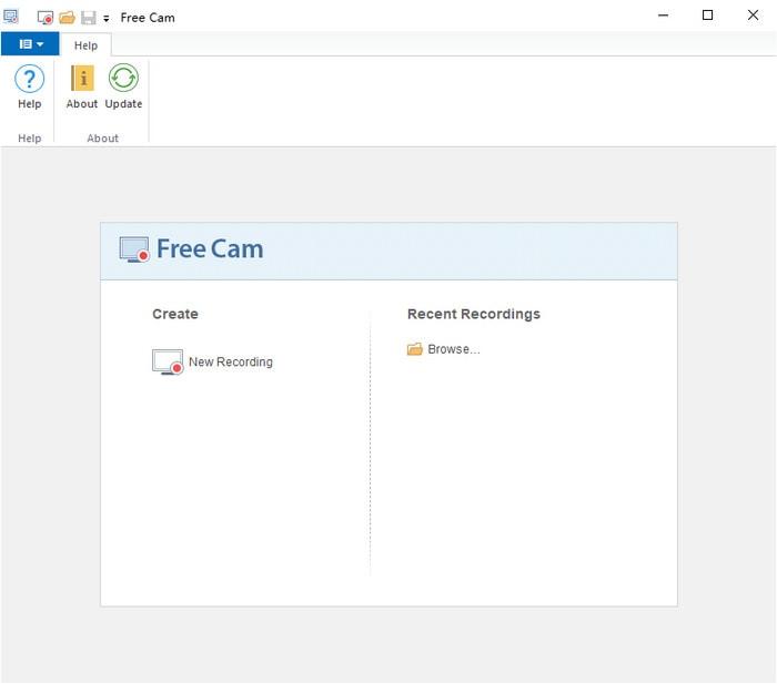 ispring freecam interface