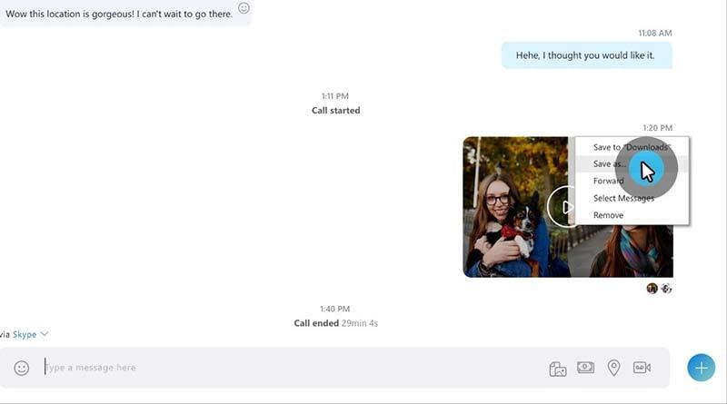 save skype recordings