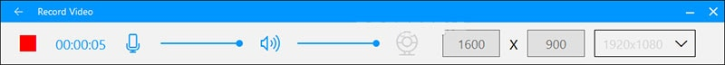 start recording windows 7 with screen recorder lite