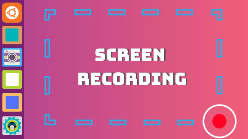 kazam screen recorder