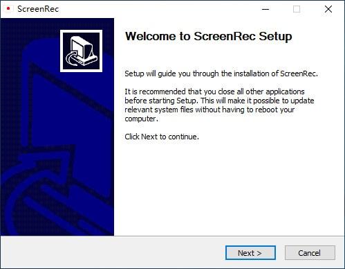 install screenrec