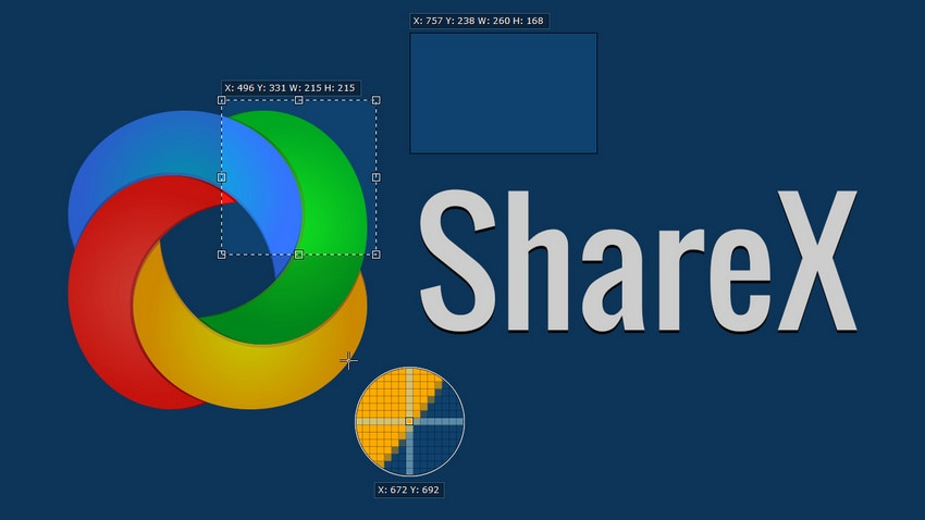 sharex screen recorder
