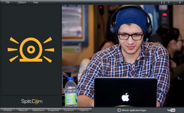 splitcam webcam capture