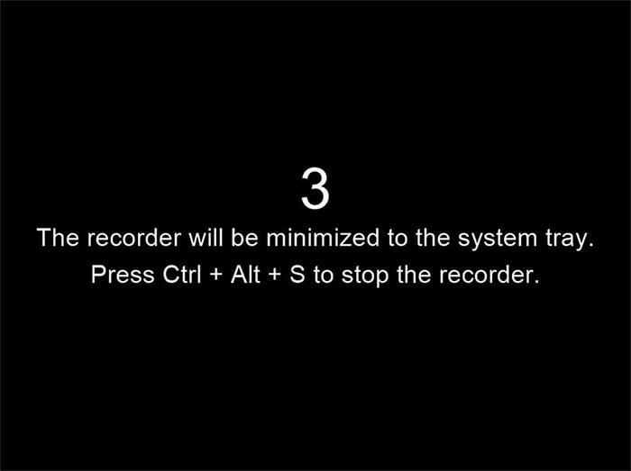 stop the recorder electa