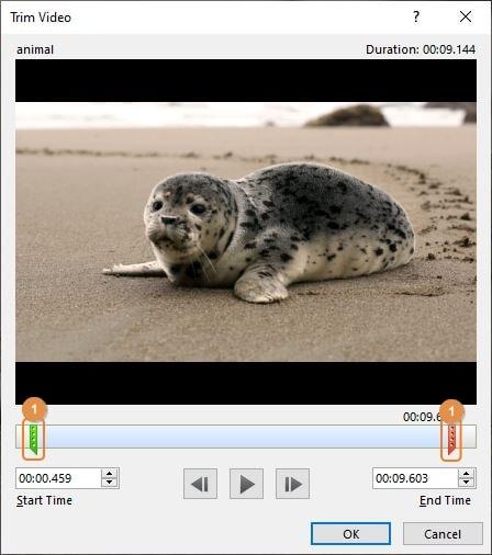trim video in powerpoint 03