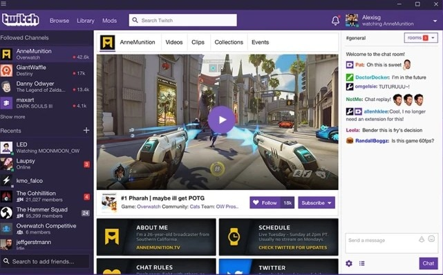 twitch screen recorder with audio