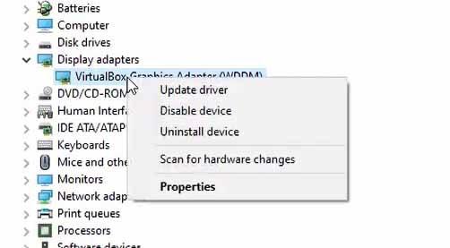 update driver windows 10