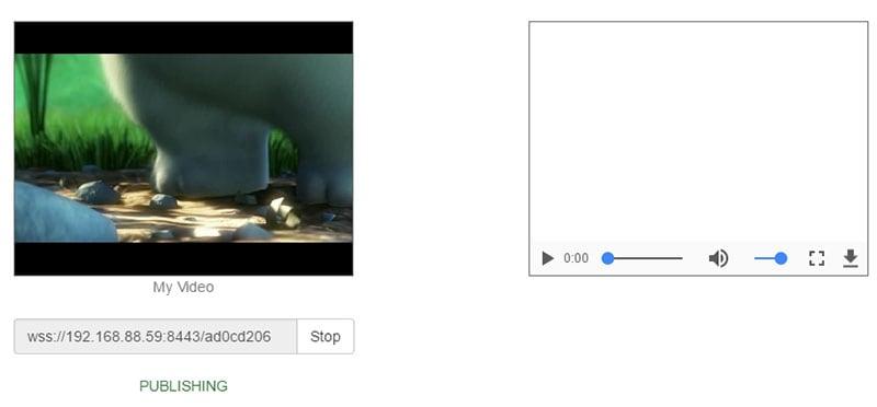 uploaded files in webrtc