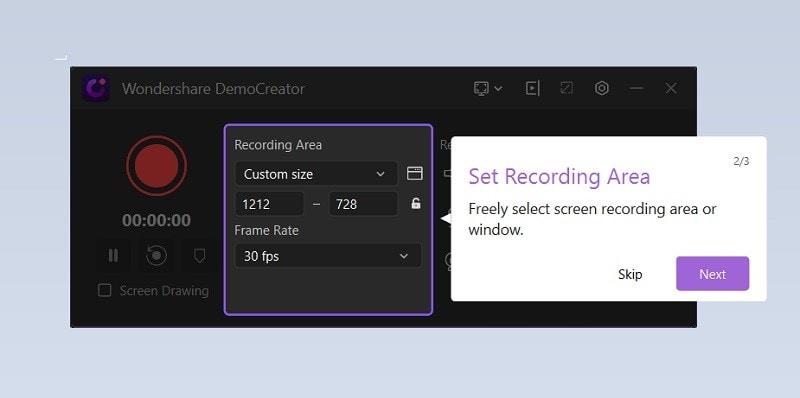 recording-interface
