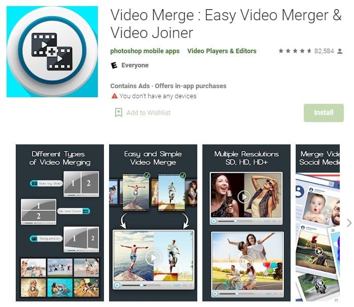 video merge easy video merger