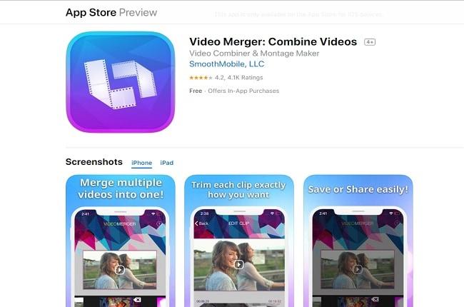 video merger combine videos