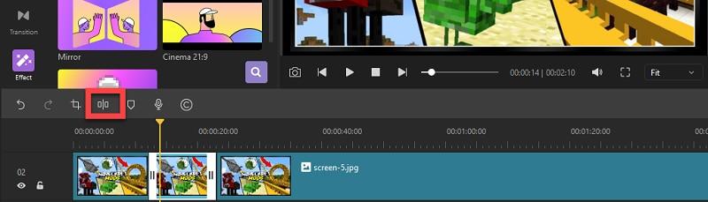 split-video