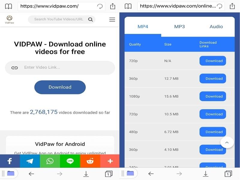 vidpaw-iphone-interface