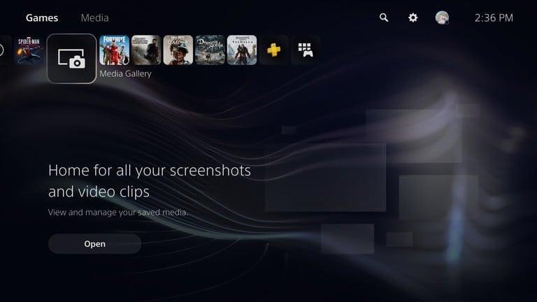 view ps 5 screenshots