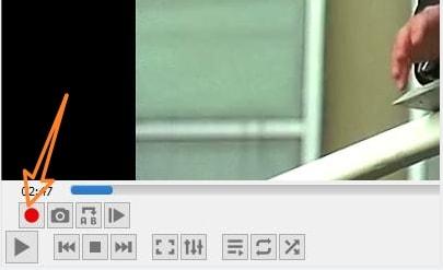 vlc split video step 2
