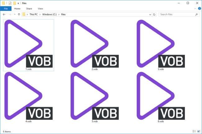 vob wmv avi files extract audio