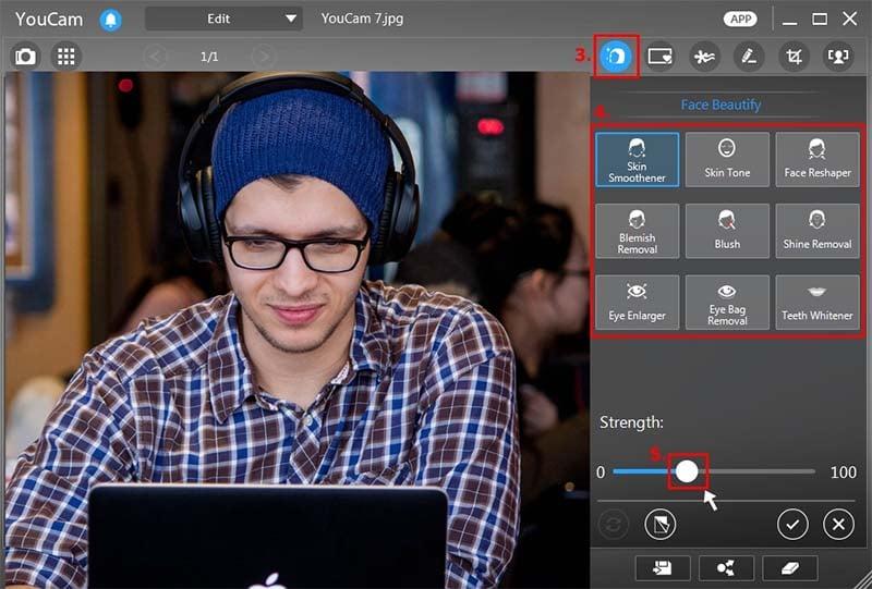 youcam webcam capture