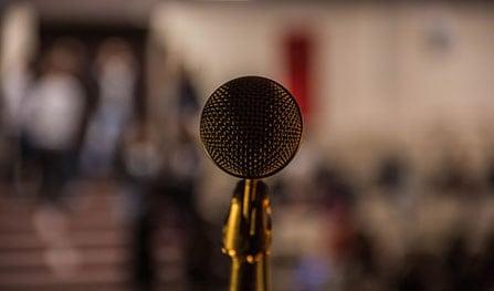record voice on presentation