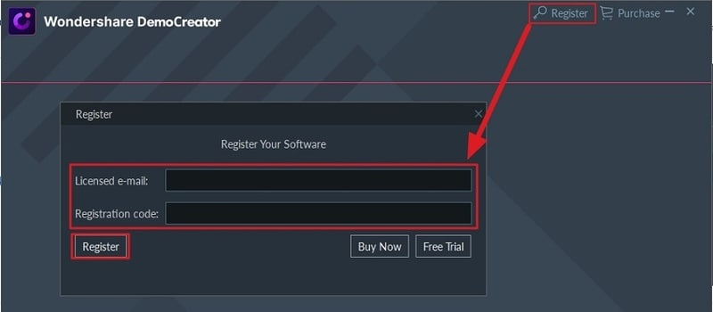 register democreator