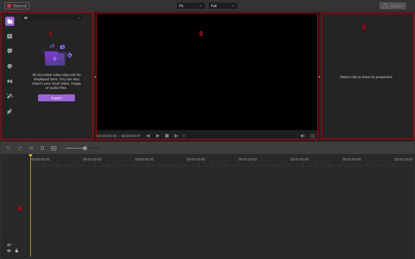 navigating video editor