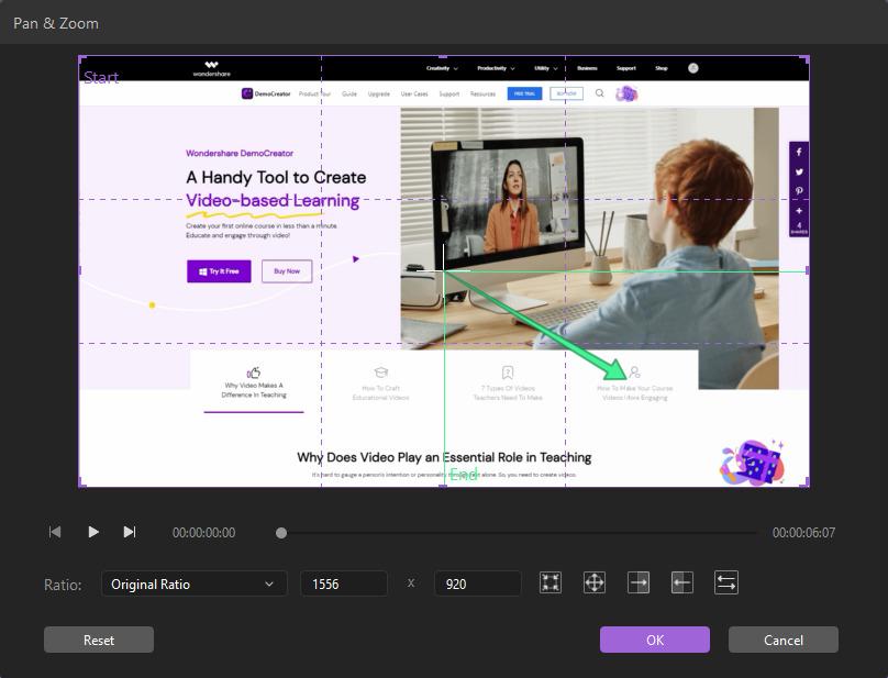 edit pan and zoom
