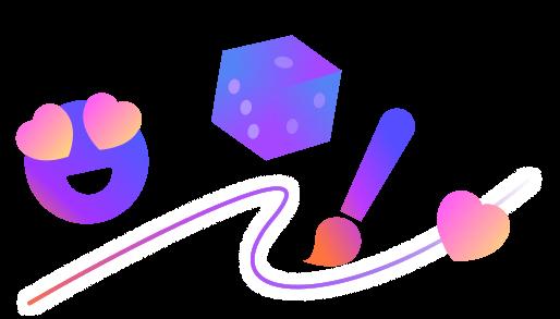dynamic stickers