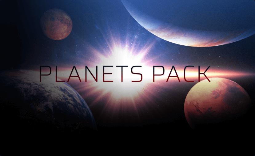 エフェクトパック-Planets Pack