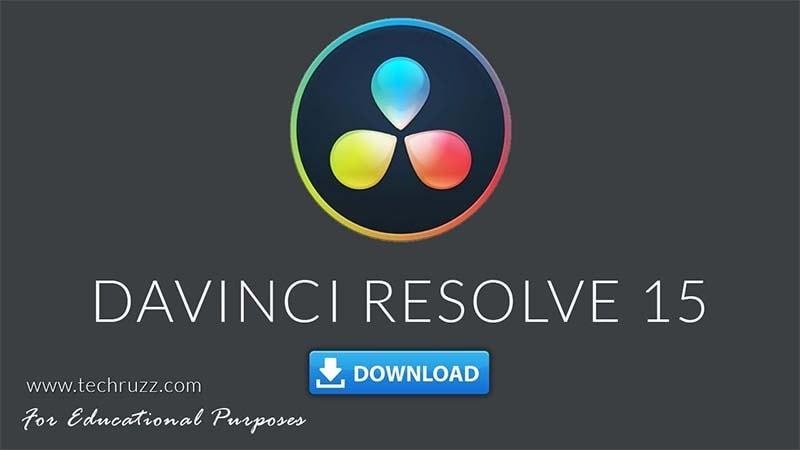 Davinci Resolve 15 Download