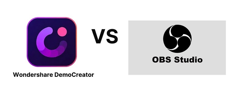 Wondershare DemoCreator vs OBS Studio: Which Screen Recorder is Better