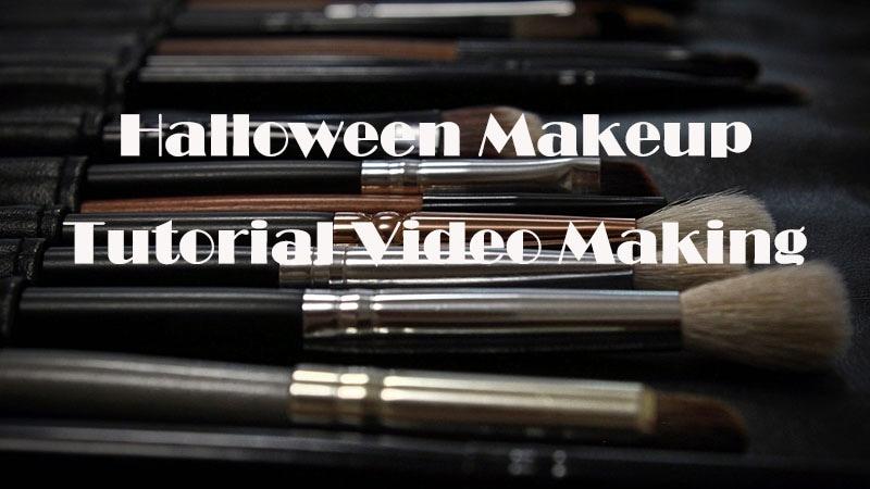 How to Make a Halloween Makeup Tutorial Video
