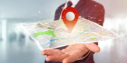 location change in iphone