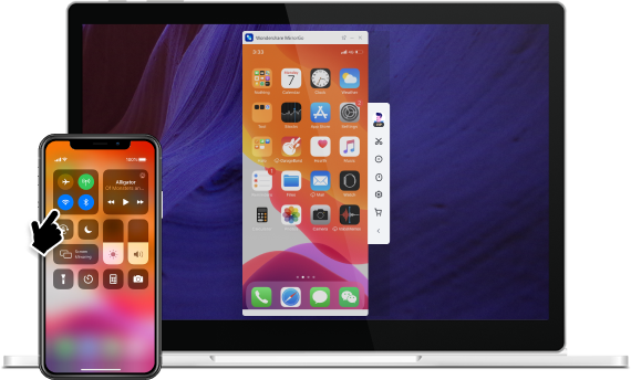 iPhone-Bildschirm spiegeln