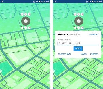 GPS Joystick Android