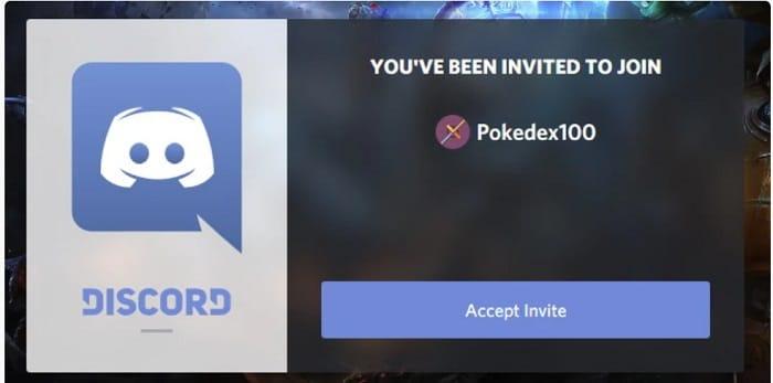 dicord server pokedex100