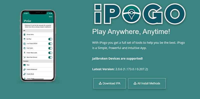 iPogo iOS App