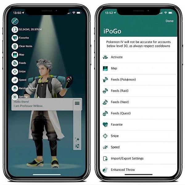 Set up iPogo Account