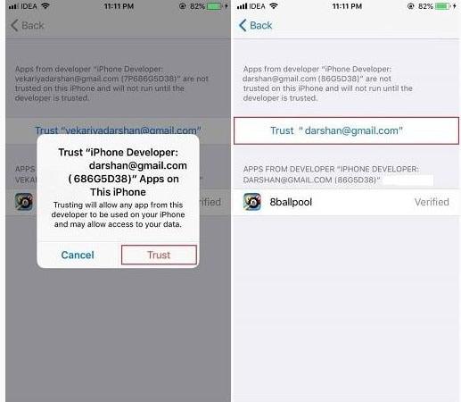 ipogo installing click trust