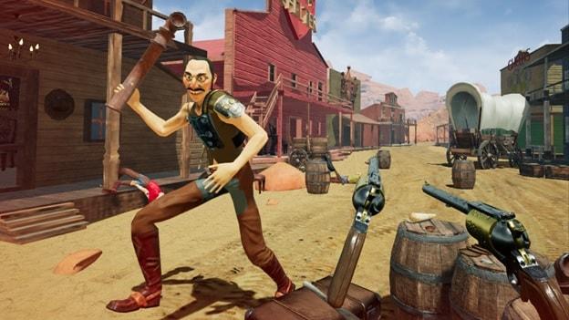 Best Ps4 VR Games guns n stories pic 11