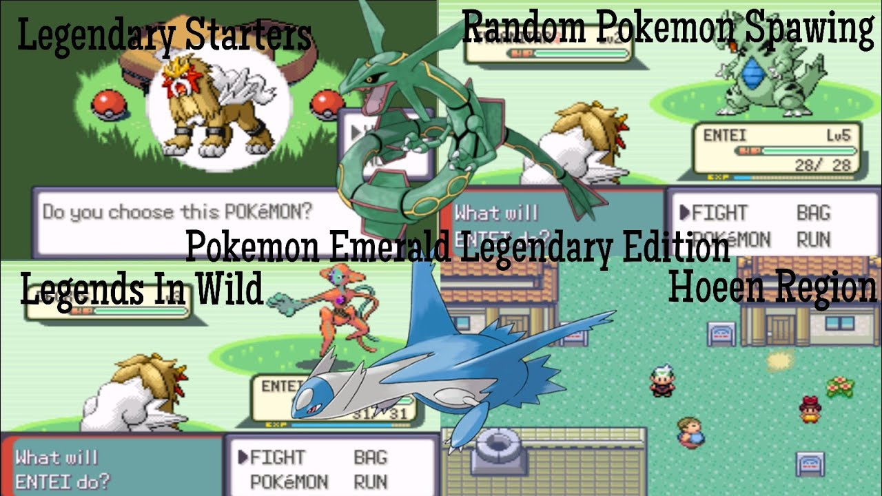 Pokemon Smaragd Legendaries 3