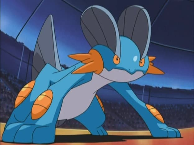 Swampert pokemon