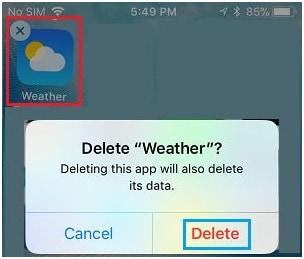wetter app ios 9