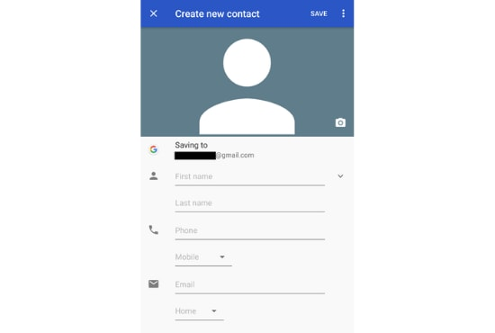 adding contact to your contact list