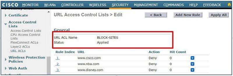 cisco web filtering